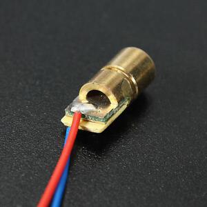 1 pc Modulo punto laser DC 5V 5mw 650nm diodo 6 millimetri tubo di testa di rame - Italia - 1 pc Modulo punto laser DC 5V 5mw 650nm diodo 6 millimetri tubo di testa di rame - Italia
