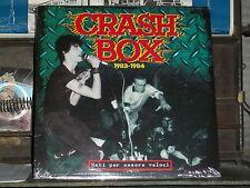 CRASH BOX nati per essere veloci LP SEALED punk hardcore italy indigesti extrema