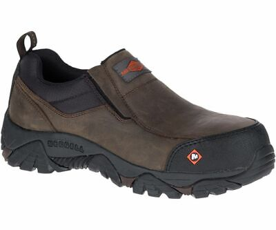 326d439ae53 Merrell Men's J45327 Moab Rover Moc EH Composite Toe Safety Work  Shoes--Special | eBay