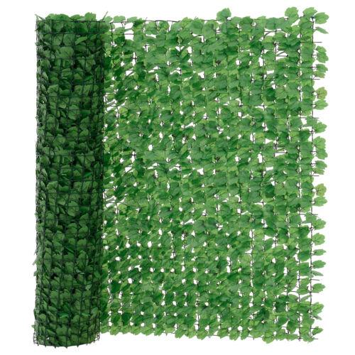 neu.haus ® Blätter Zaun Grün Sichtschutz Windschutz Zaun Garten Balkon Sonnen