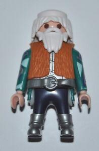 11145 Playmobil Tête Homme avec Cheveux Oranges Classiques