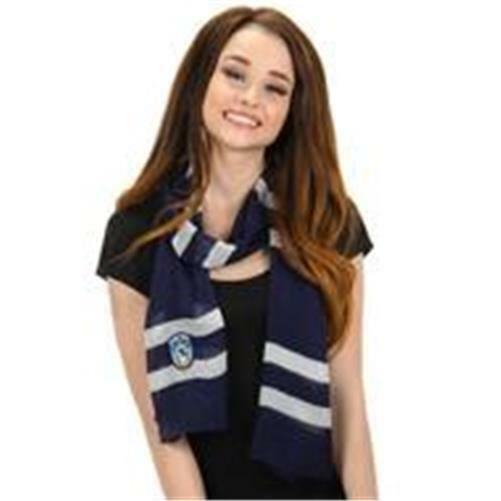 HARRY POTTER Licensed RAVENCLAW House Sigil SCARF Lightweight COSPLAY Prop