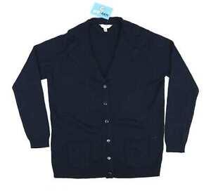 Julipa-Womens-Size-12-14-Blue-Cardigan-Regular