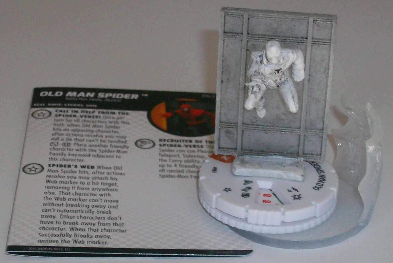 OLD MAN SPIDER 063  Superior Foes Of Spider-Man HeroClix Chase Rare Sketch