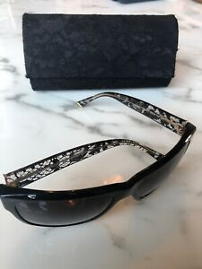 d93429959d41 Image is loading DOLCE-amp-GABBANA-RARE-LACE-SUNGLASSES-WITH-MATCHING-