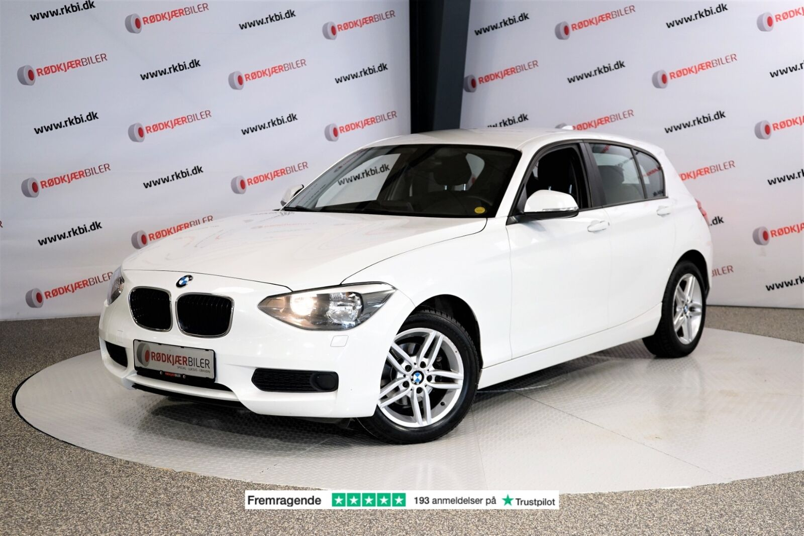 BMW 116d 2,0 aut. 5d