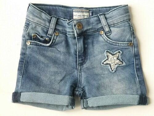 Salt and Pepper Mädchen  Jeans-Shorts 92 98 104 110 116 122 128 134 140  Neu 1B