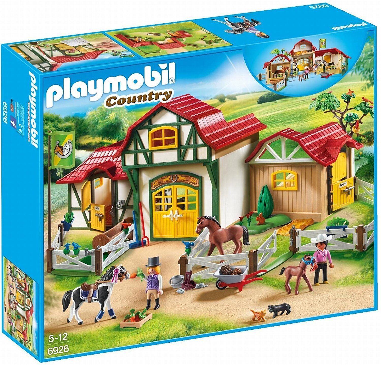 Playmobil Country 6926. Ferme de chevaux. Plus de 5 ans
