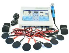 Home Use Combo Ultrasound 1mhz Therapy Unit 4 Channel Physical Therapy Machine