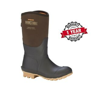 DRYSHOD-Barnstable-Mid-12-034-Women-039-s-All-Conditions-Farm-Boot-Muck-Style-BSB-WM-BR