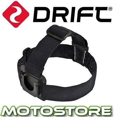 DRIFT HD GHOST / GHOST S / STEALTH 2 HELMET / HEAD STRAP MOUNT GENUINE ITEM