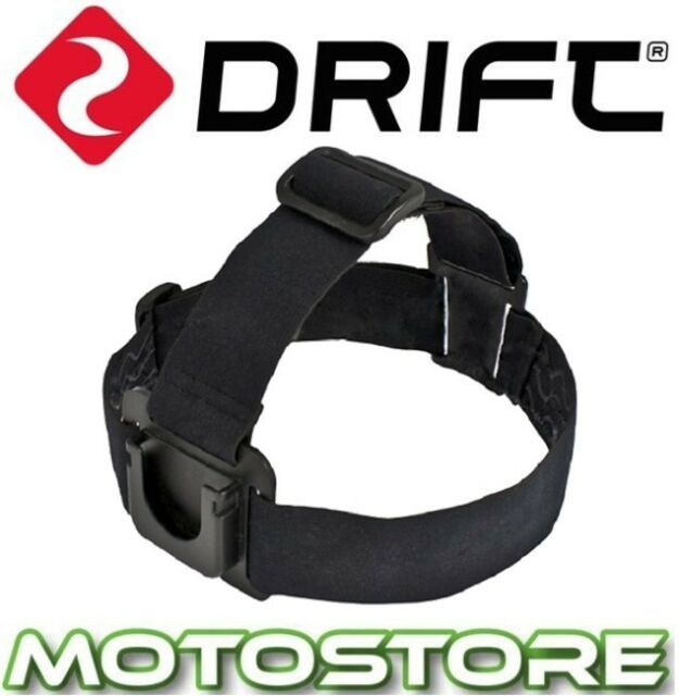 DRIFT HD GHOST / GHOST S / STEALTH 2 HELMET / HEAD STRAP MOUNT GENUINE ITEM