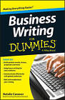 Business Writing For Dummies(R) by Natalie C. Canavor (Paperback, 2013)