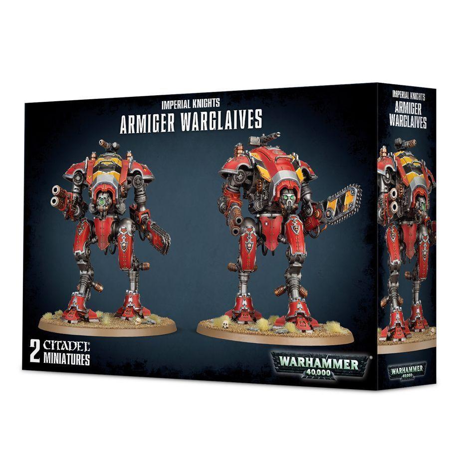 Warhammer 40.000  armiger warglaives gw 54-17 plastik nib