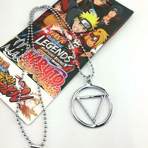 0Anime Naruto Necklace Shippuden Hidan's Jashin Charm Pendant Cosplay accessory
