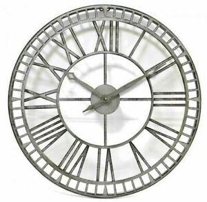 Jonart-Design-Metal-works-61cm-Outdoor-Clock-Indoor-Outdoor-Big-Round-CL003