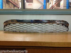 Ford-Falcon-BF-XR6-turbo-XR8-chrome-plastic-clip-in-lower-bumper-bar-grille-mesh