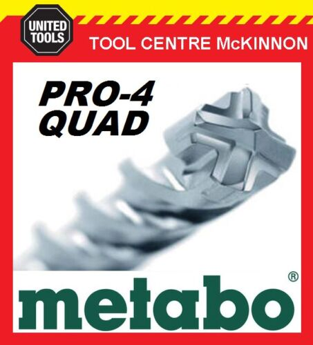 METABO 25.0 x 400 x 450mm SDS PLUS PRO-4 QUAD HAMMER DRILL BIT – MADE IN GERMANY
