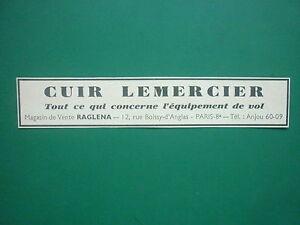 5-38-PUB-LEMERCIER-VETEMENT-CUIR-EQUIPEMENT-DE-VOL-PILOTE-RUE-BOISSY-D-039-ANGLAS-AD