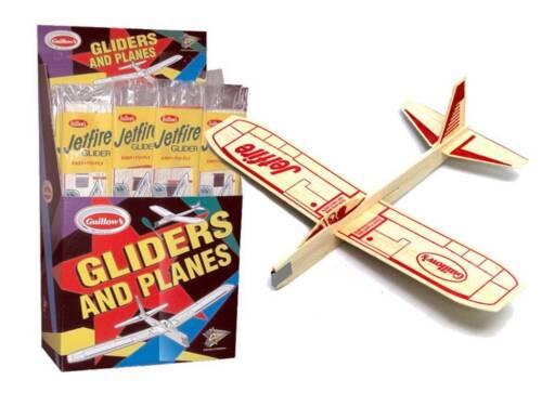 48 JETFIRE Balsa wood Air Plane glider GUILLOWS Jet model kit #30 PARTY PAK New