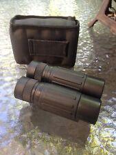 "BUSHNELL Binoculars - 10 x 25 - 302 ft .at 1000yds - Black - with Case - 4 1/4"""