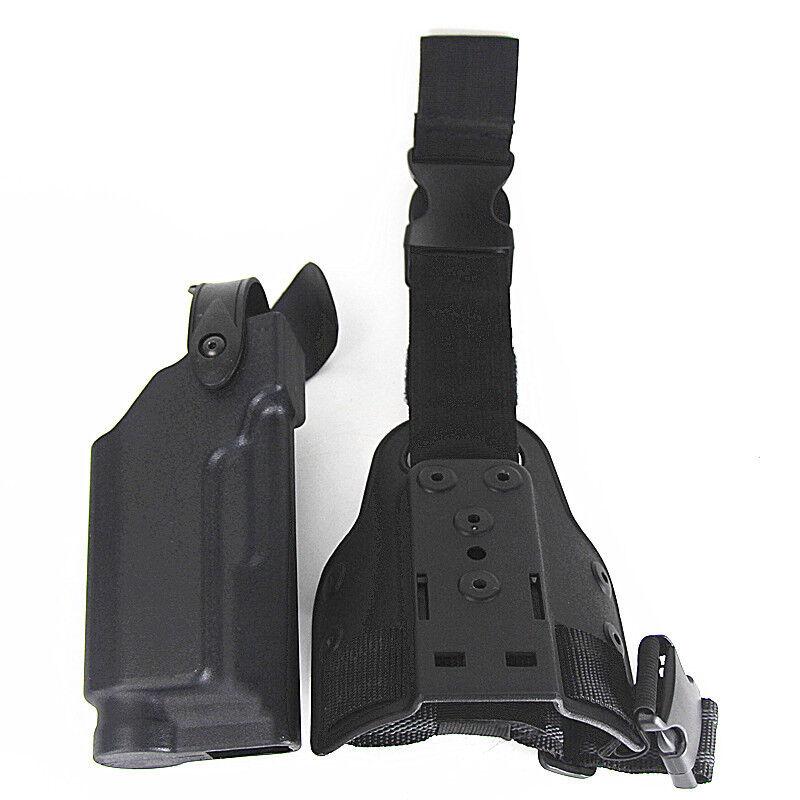 Hunting Pistol Gun Waist Belt Holster Case Drop Leg Platform For Beretta M9 92