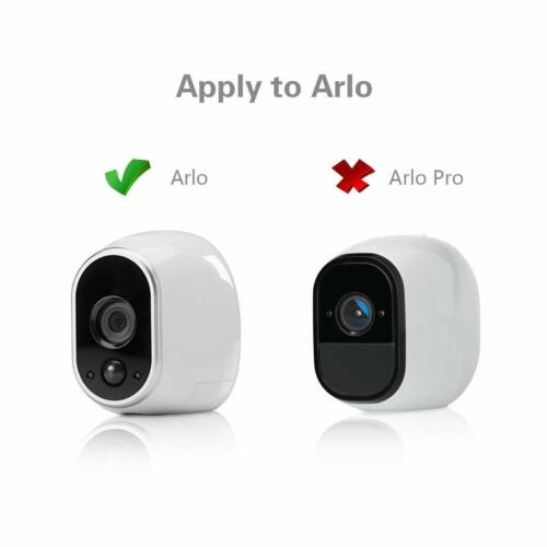 Replace CR123A 26ft White or Black Power Adapter for Arlo HD Security Camera