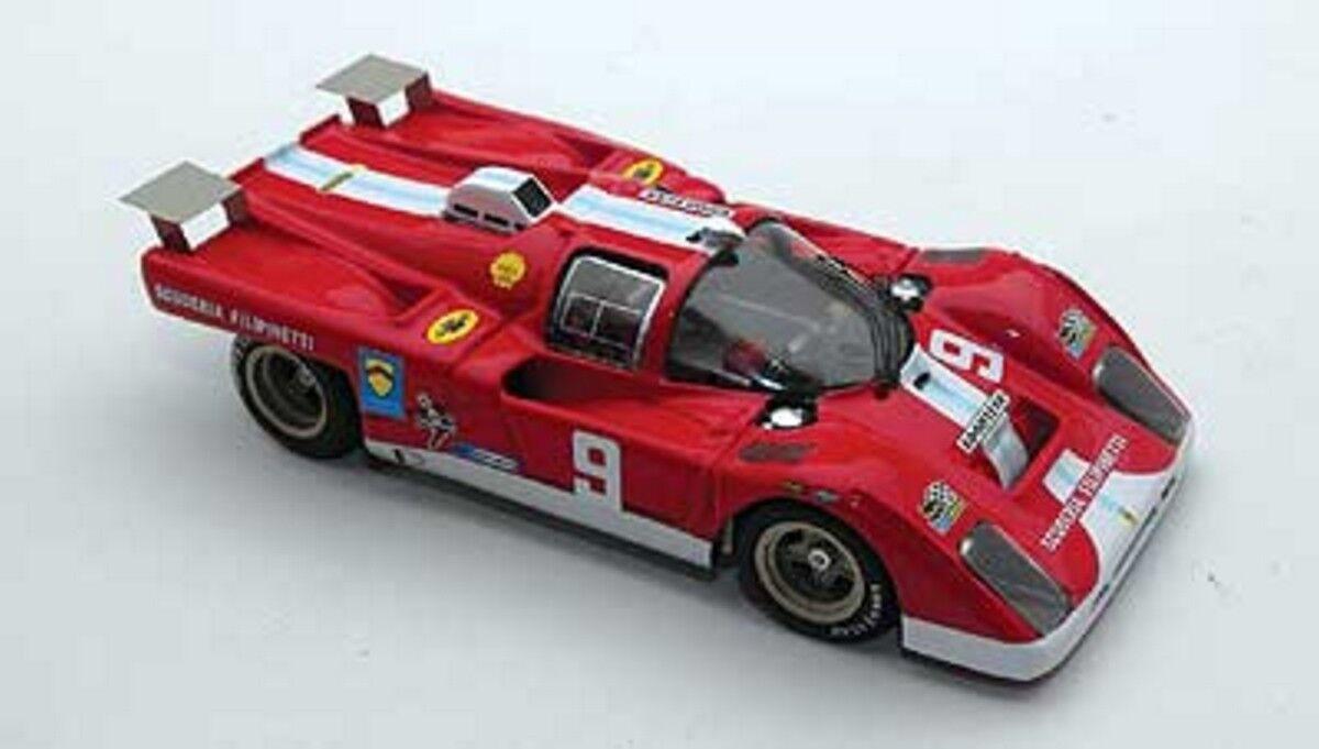 kit Ferrari 512M ch.1050 Filipinetti Team  9 Monza 1971 - M.P. Models kit 1 43