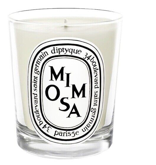 Diptyque Mimosa Mini Candle 2.4 oz 70 g New without original box