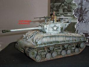 Roi et pays Bba54 Seconde Guerre Mondiale M4 A3e8 Facile Huit Militaire Sherman Tank