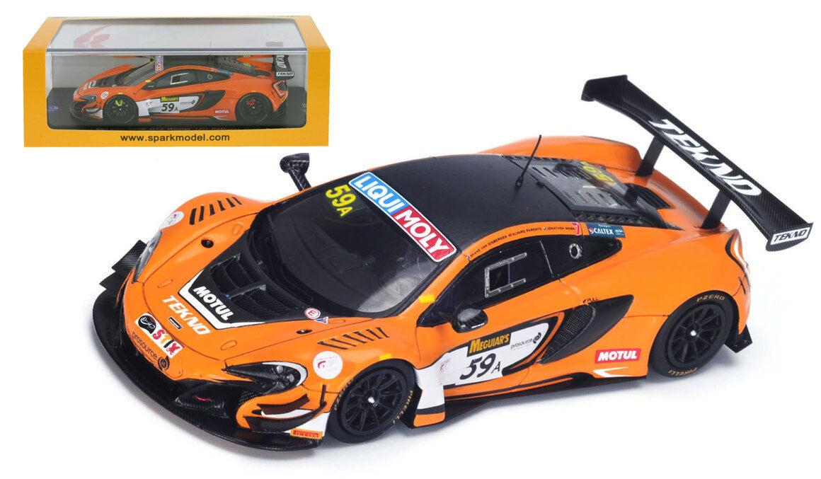 Spark AS021 McLaren 650S GT3 Winner 12H Bathurst 2016 - 1 43 Scale