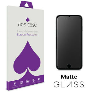 designer fashion 3adeb 72fe0 Details about iPhone 6S 6 PLUS Matte Anti Glare Screen Protector - Tempered  Glass MATTE GLASS