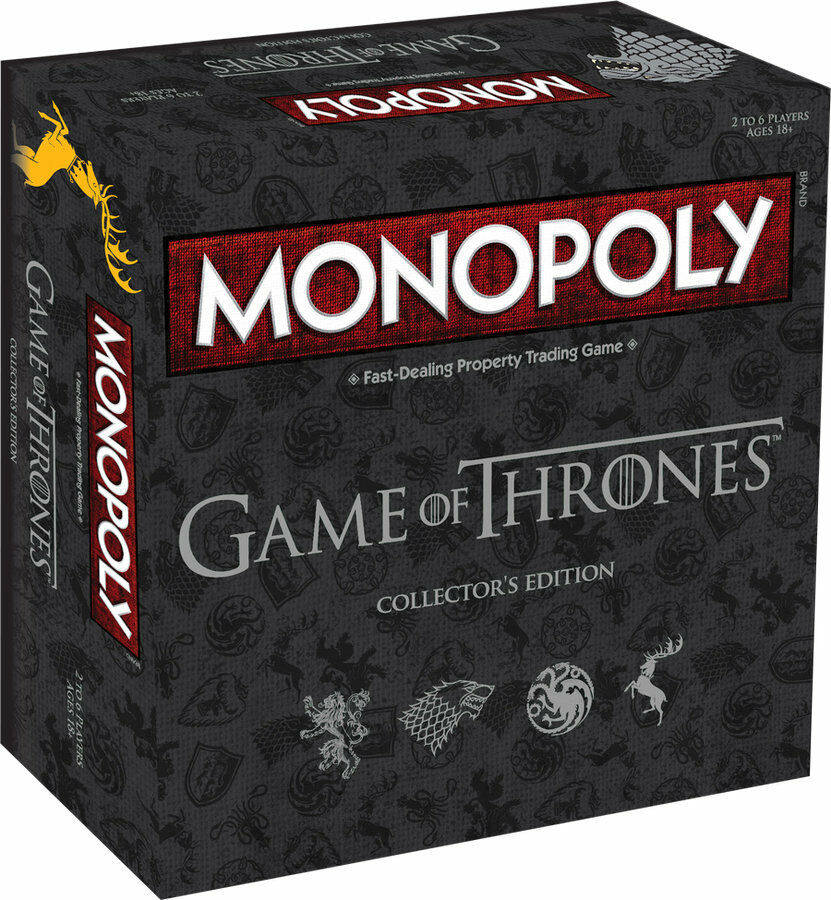Monopoly Game of Thrones Deluxe Edition (anglais) boardgame jeu de plateau Got NEUF