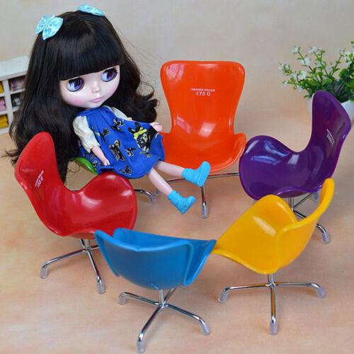6 für 12 Zoll Puppenhausmöbel Miniaturen Bürostuhl im Maßstab 1