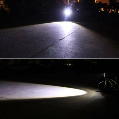 T6 LED MTB Rear//Front Set 15000LM Bicycle Lights Bike Headlight USB Rechargeable