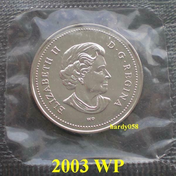 2003 WP *Special Edition* Proof Like 5 cents - in Mint Sealed cello