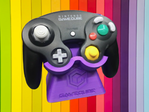 Nintendo Gamecube Controller Display Stand Gaming Custom Colors Ebay High quality vinyl with air escape adhesive. ebay