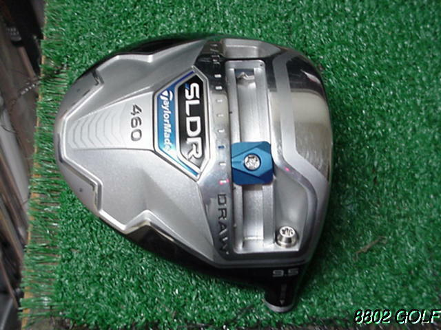 Very Nice Tour Issue Taylor Made SLDR 460 9.5 Driver Head & Toe Screw TDBXXXX