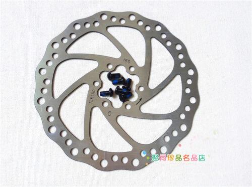 New TEKTRO Brake Rotors 160mm 6 inches Disc Rotors 1PCS 6 Blots