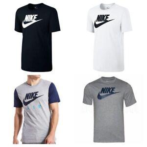 Nike-Futura-Hommes-T-Shirt-Casual-Tee-Gym-Sports-T-shirt-homme-coton