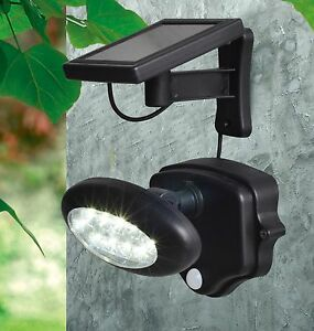 Extra Bright Solar Security Light Garage Driveway Light w