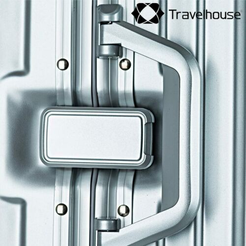 Travelhouse London 4-rad Valise s-55cm 47 L bordtrolley bordkoffer couleur argent
