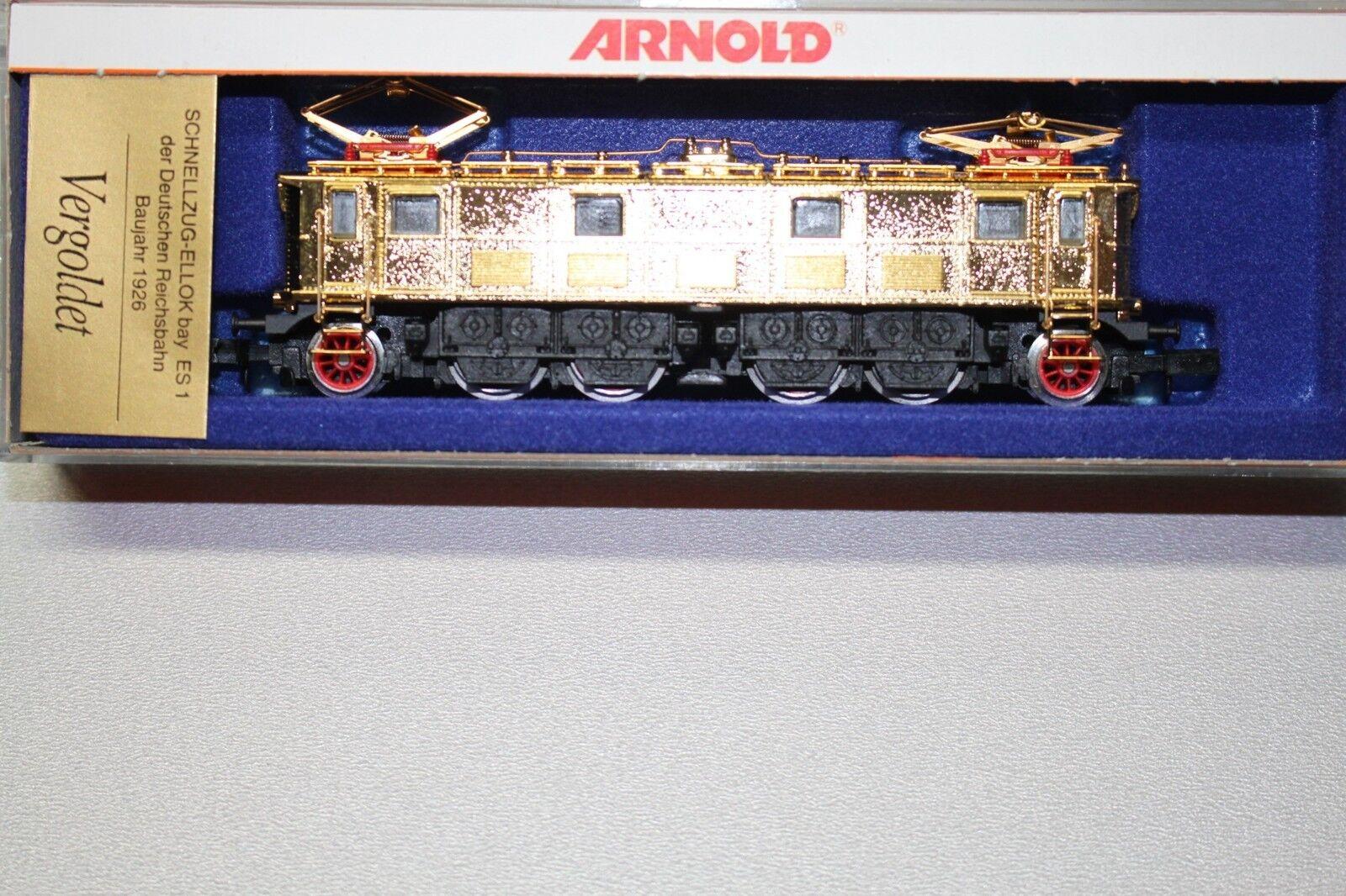 Arnold 2714 Elok ES 1 Deutsche Reichsbahn vergoldet Spur N OVP