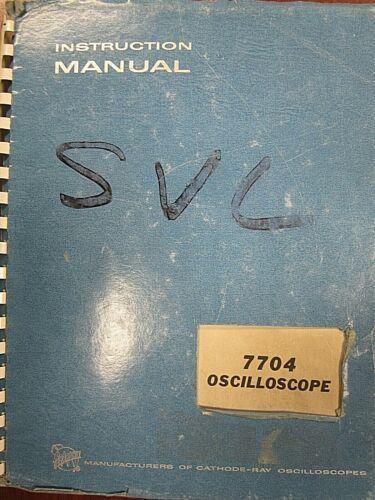 Details about  /Tektronix 7704 Oscilloscope Instruction Manual 070-0981-00
