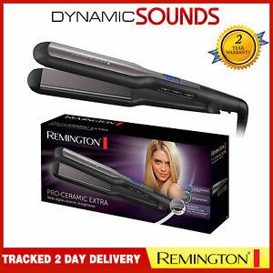 Détails sur Remington Pro Céramique Extra Cheveux Lisseur 230°C S5525
