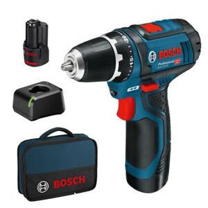 Bosch-Akku-Bohrschrauber-GSR-12-V-15-Professional-inkl-2-Akkus-2-0-Ah-Tasche