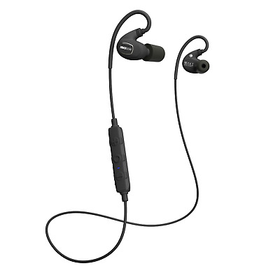 ISOtunes IT-02 XTRA Noise-Isolating Bluetooth Earbuds 27db NRR 8 Hour Batte New