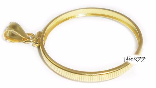 $10 Gold Liberty Coin Bezel Gold Filled Frame Mount Pendant