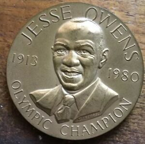 Sports Mem, Cards & Fan Shop Olympics 1988 Jesse Owens US Mint Congressional Medal Bronze