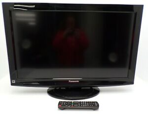 Panasonic TC-L32X1 32 Inch LCD TV PC Monitor HDMI with Factory Remote - WORKS